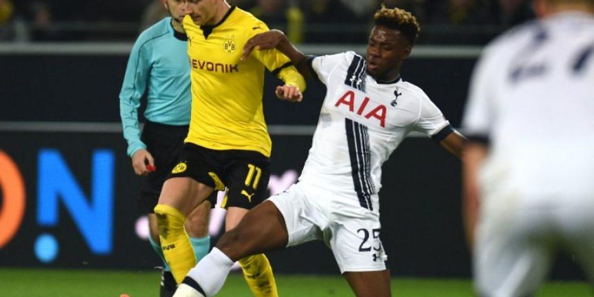Resultado del partido Borussia Dortmund vs Tottenham Hotspur, ida de octavos de final de la Europa League 2015-2016