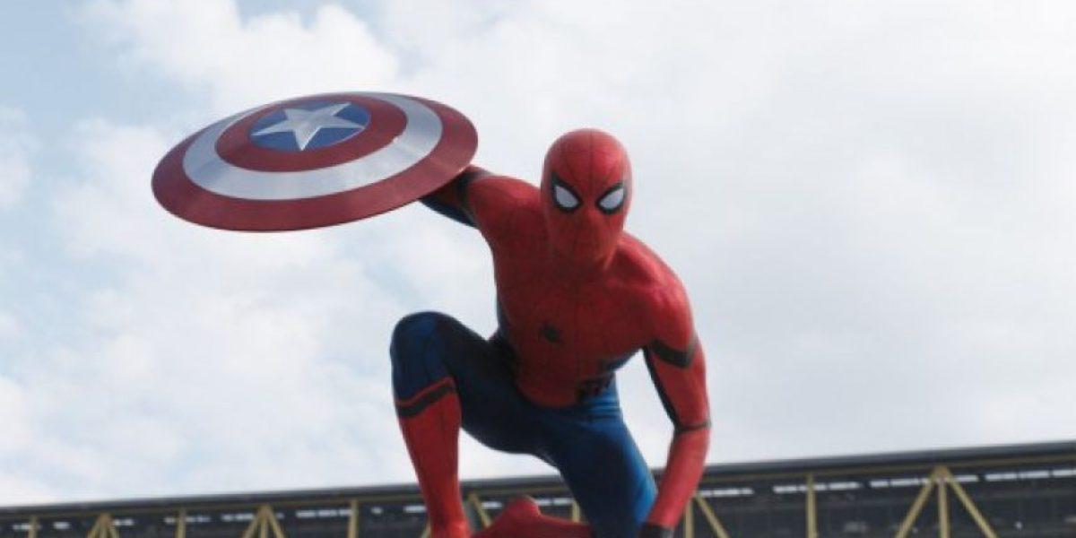 """Spiderman aparece en el segundo trailer de """"Captain America: Civil War"""""""