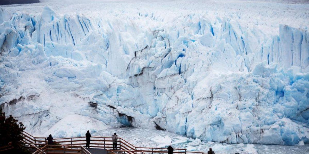 Comenzó la ruptura del glaciar Perito Moreno en Argentina