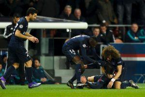En la ida se impuso el PSG 2-1, con goles de Ibrahimovic y Cavani Foto:Getty Images