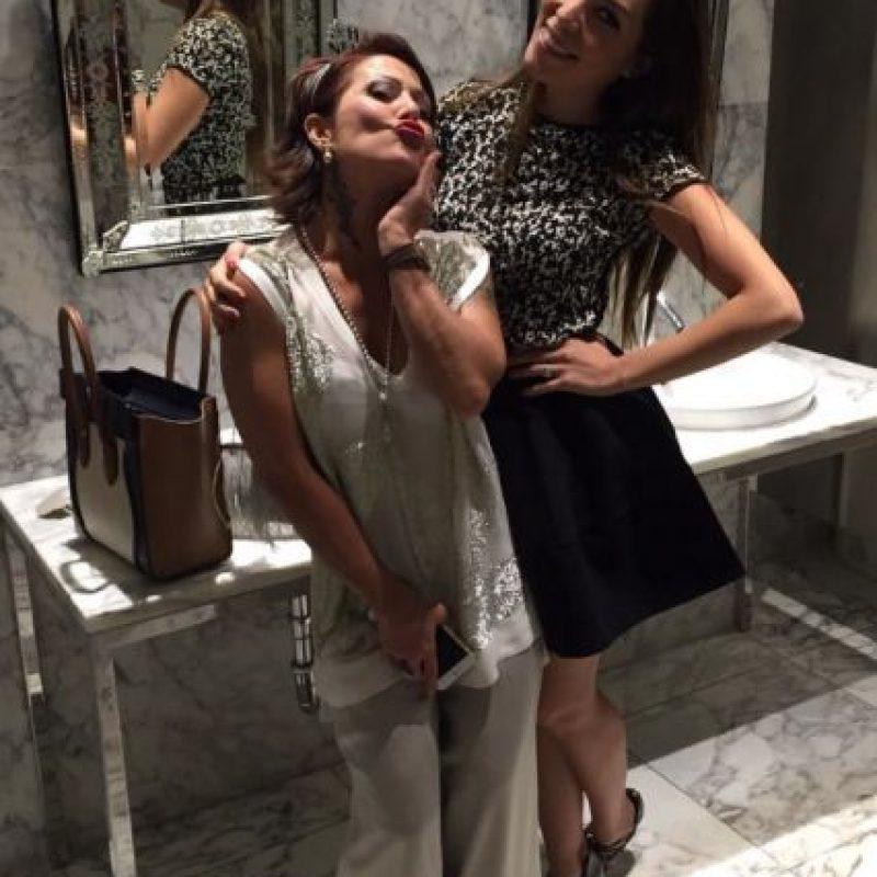 Alejandra Guzmán y su hija Frida Sofía Foto:Vía Instagram/@laguzmanmx