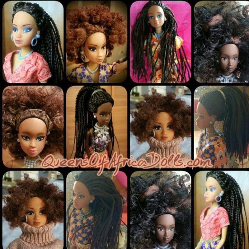 Vienen en diferentes tipos de negro y con trajes tradicionales africanos y modernos. También tienen consignas políticas. Foto:vía Facebook/Queensof Africa