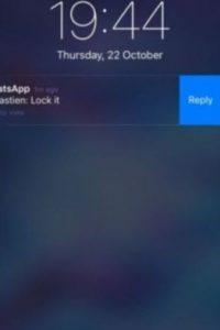 3- Responder desde las notificaciones en el iPhone sin necesidad de entrar en la app. Foto:Tumblr
