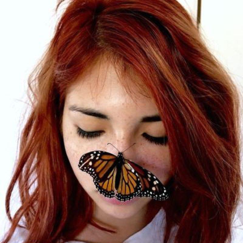 Melissa Casillas. La imagen de la estudiante de animación y arte digital, de 21 años de edad, originaria de la ciudad mexicana de Querétaro, es la primera que se incluye de una ciudadana de este país. Foto:Vía Apple