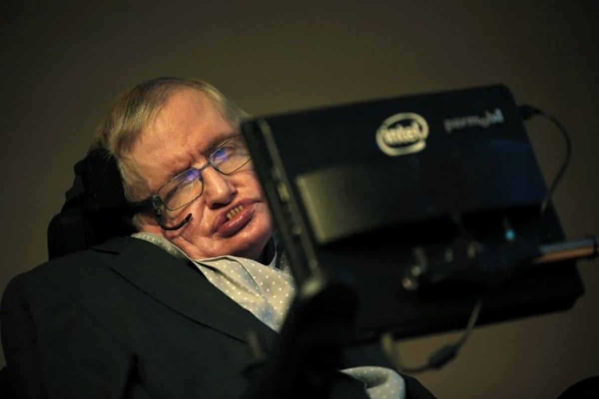 Stephen Hawking durante un evento. Foto:AFP