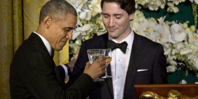 Se realizo una cena en honor a los visitantes Foto:AFP