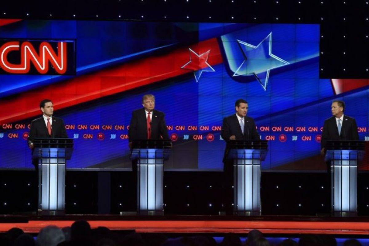 Se habló del último debate republicano antes de la primarias del próximo martes 15 de marzo Foto:AFP