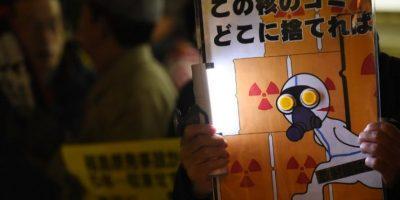 Los ciudadanos continúan exigiendo acciones respecto a la contaminación nuclear Foto:AFP