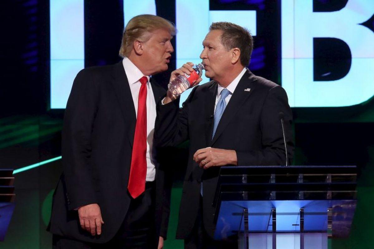 Los republicanos al fin tuvieron un debate sin insultos Foto:AFP