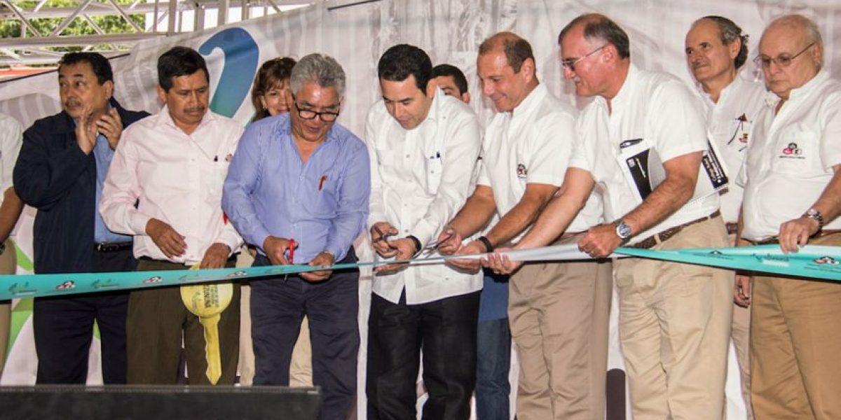 Cervecería Centro Americana S. A. inaugura obras en Tzununá