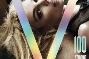Britney Spears definitivamente se estilizó. Foto:vía V magazine