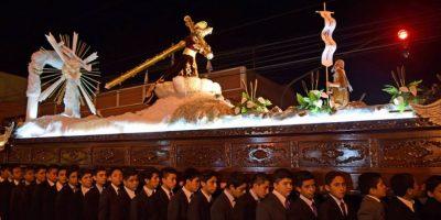Procesión infantil de Jesús de Candelaria, Quinto Sábado de Cuaresma 12 de marzo de 2016