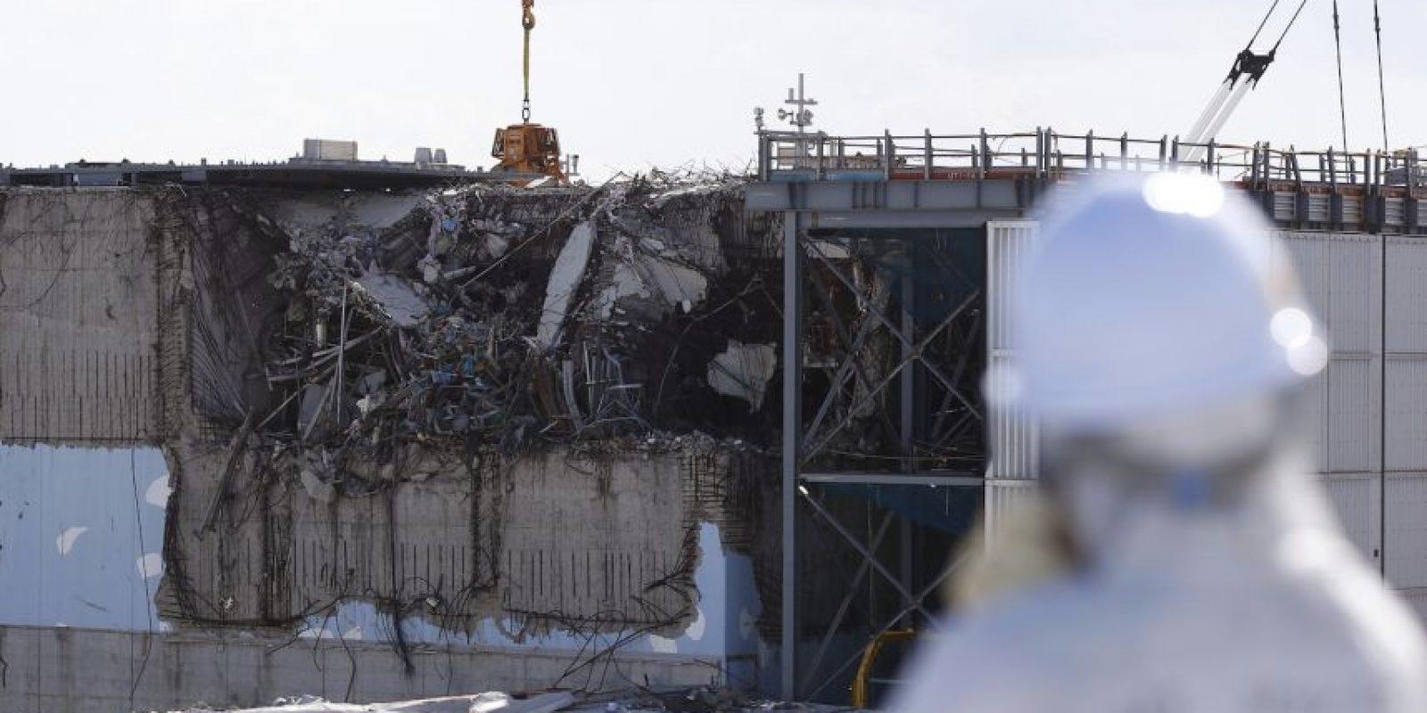 Accidente nuclear en Fukushima. Foto:AFP