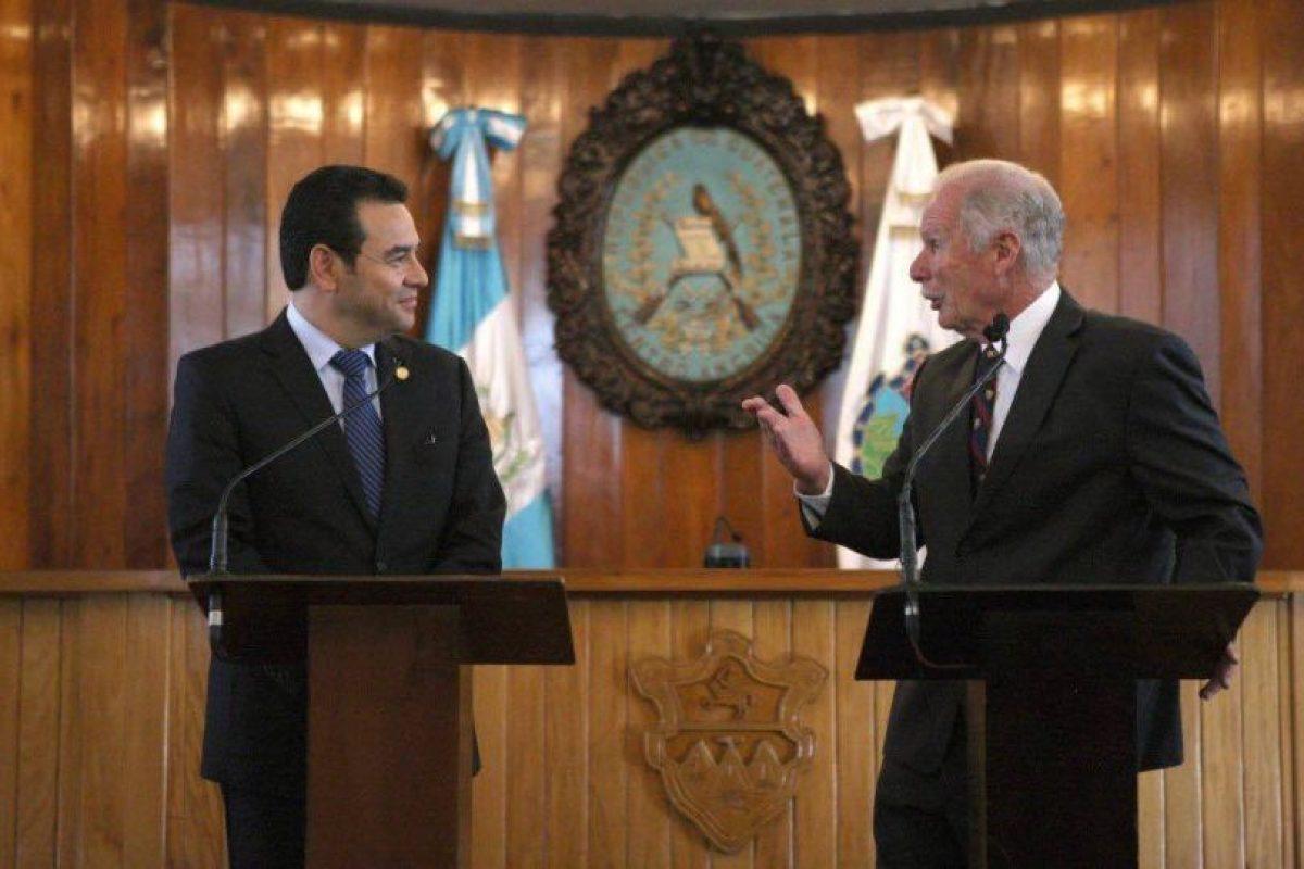 Foto:Gobierno de Guatemala