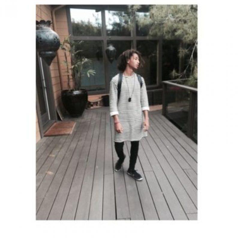 Estos son los looks más femeninos de Jaden Smith Foto:Vía Instagram/@christiaingrey