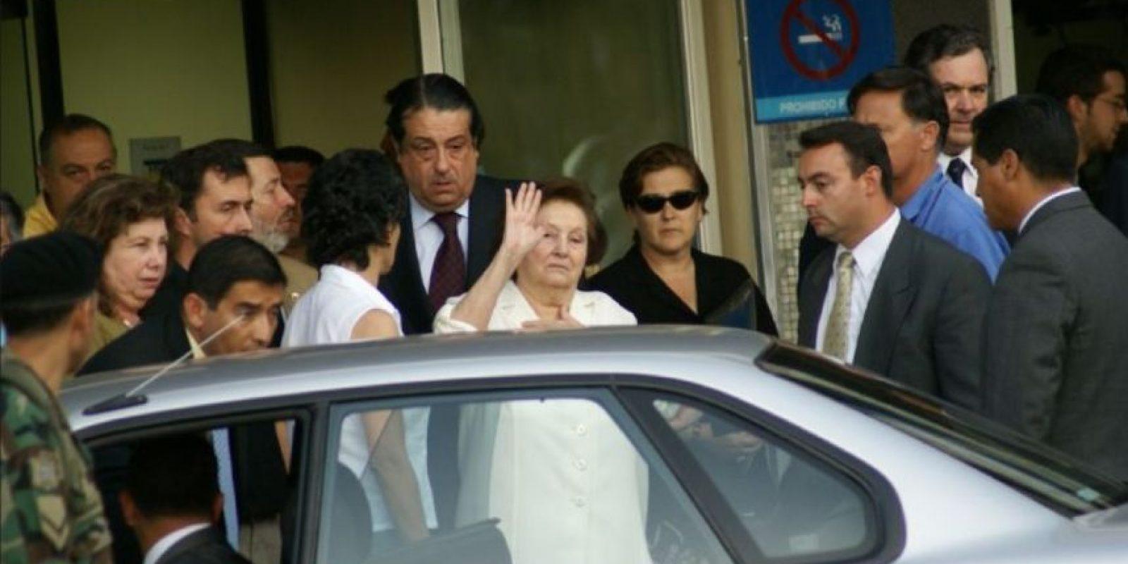 La mujer de 93 años llegó con aparentes problemas de neumonía. Foto:Wikipedia.org