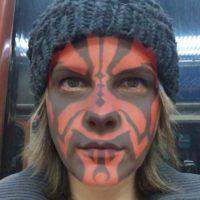 Filtro Darth Maul de Star Wars Foto:Masquerade