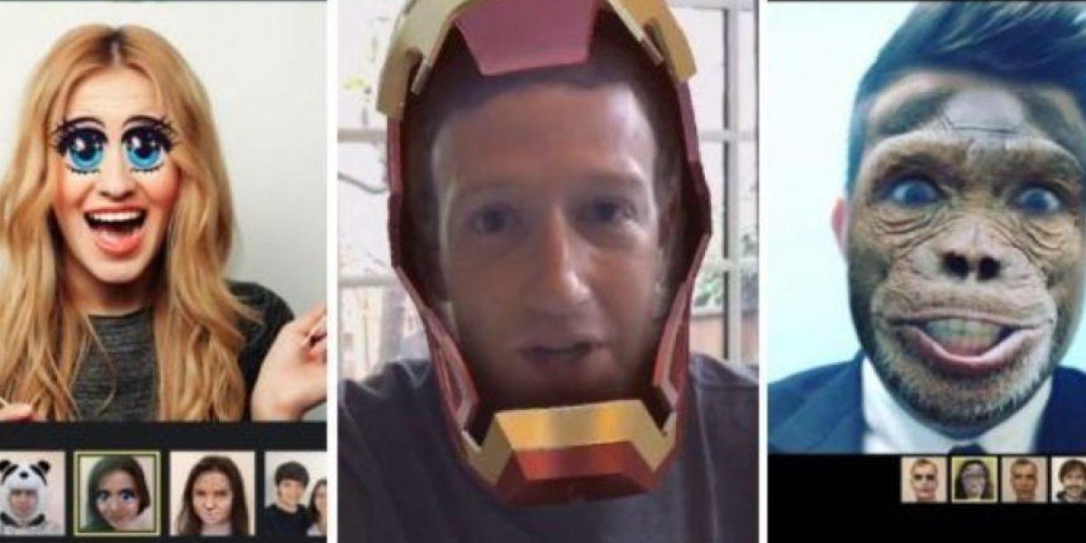 Facebook quiere parecerse a Snapchat con su nuevo filtro para fotos