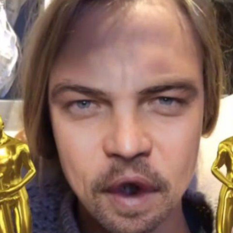 Filtro Leonardo DiCaprio Foto:Masquerade