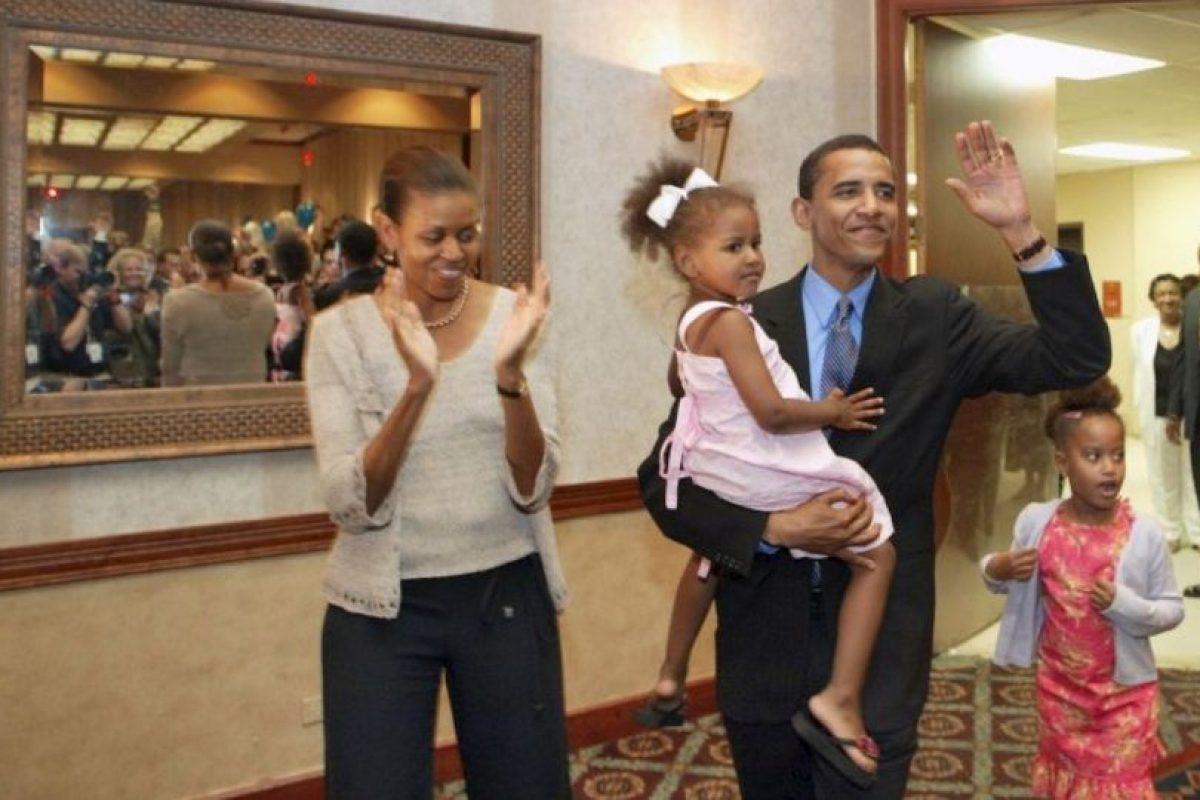 El antes y después de las hijas de Barack Obama Foto:Getty Images