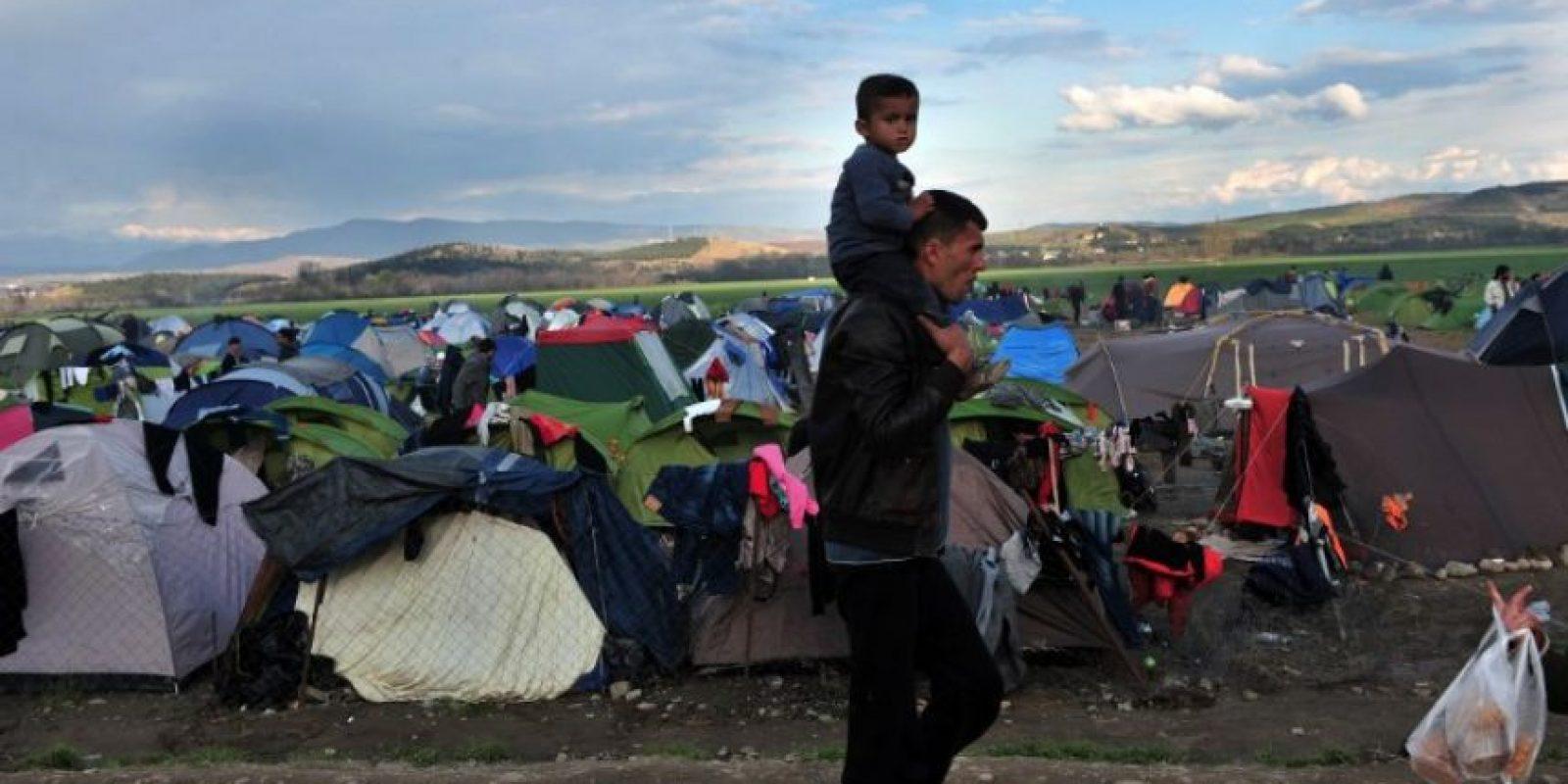 El mayor número de refugiados proceden de Siria, Afganistán e Irak. Foto:AFP