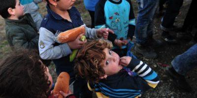 Las llegadas a Grecia continúan con un promedio diario de dos mil migrantes. Foto:AFP