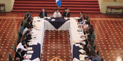 Gobernadores participaron en taller sobre la Política General de Gobierno 2016-2020