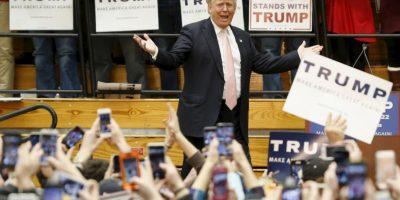 Donald Trump, es el favorito hasta ahora de los precandidatos republicanos, a pesar de su polémica campaña. Foto:AP