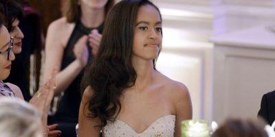 Malia Obama, está apunto de dejar a sus padres para dirigirse a la universidad. Foto:Getty Images