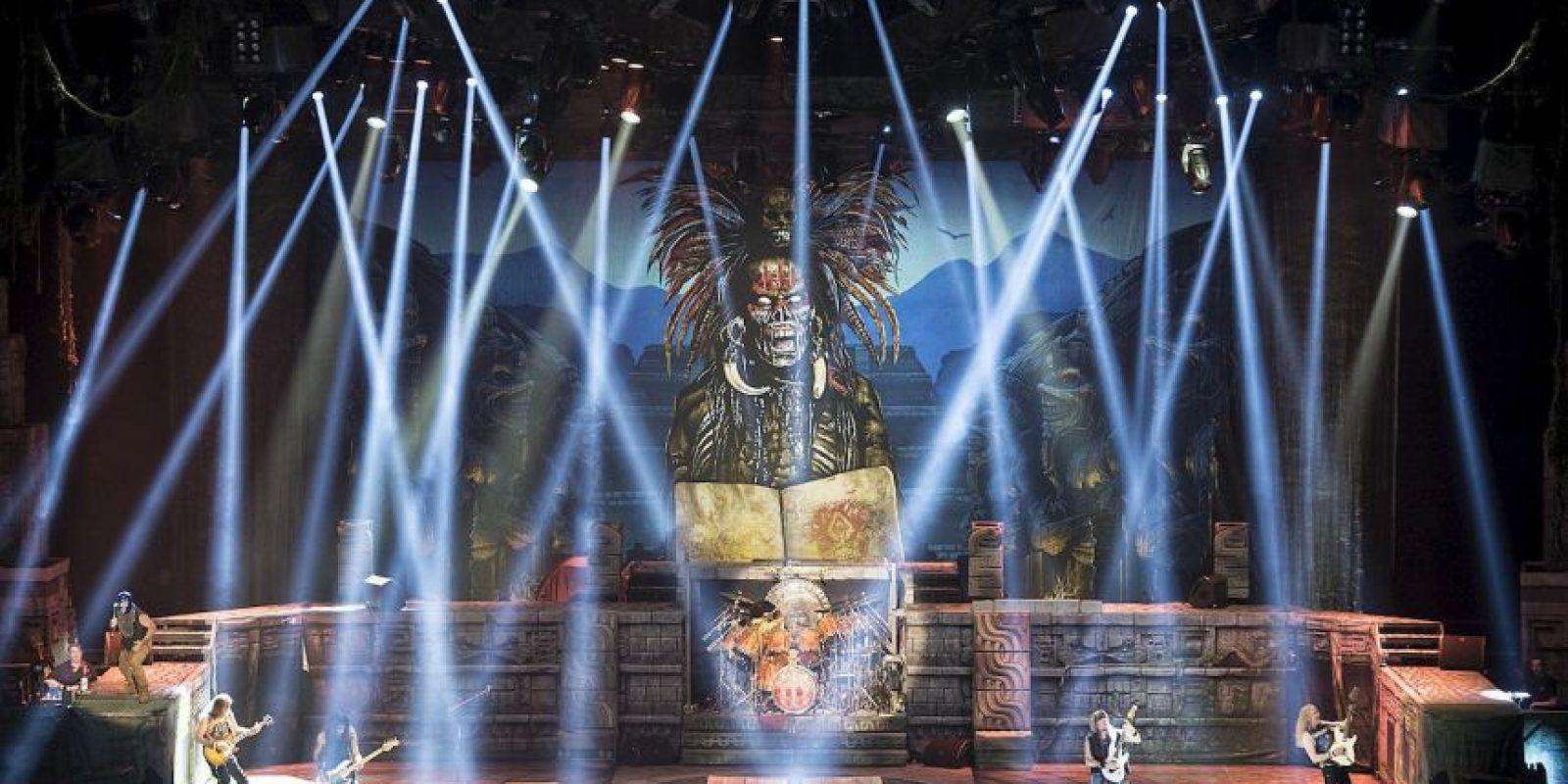 """Estas son algunas imágenes de la gira de Iron Maiden """"The Book of Souls"""" Foto:Grosby Group"""
