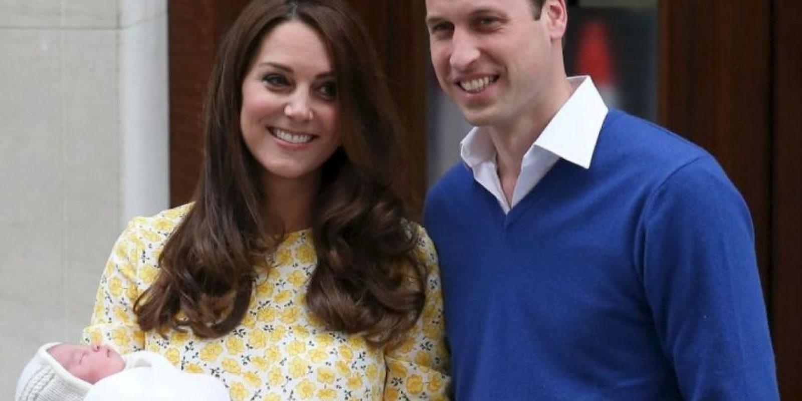 El 2 de mayo de 2015 nació la princesa Charlotte. Foto:Getty Images