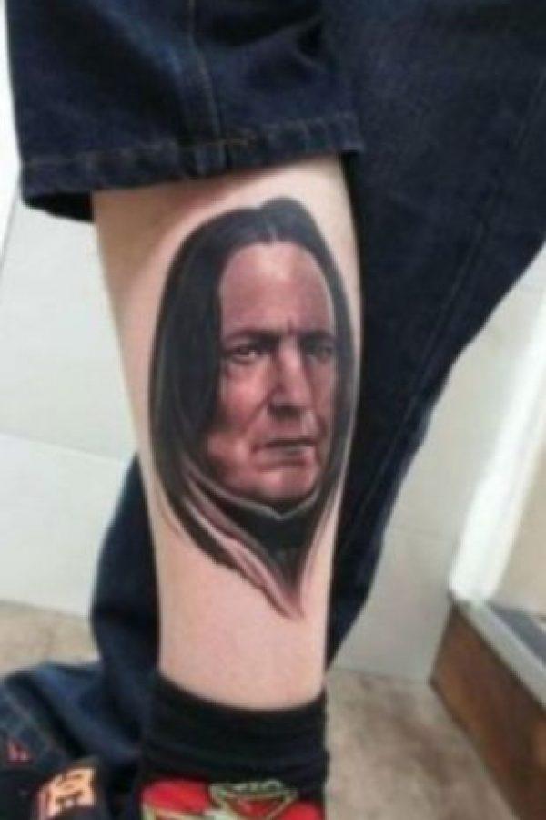 Severus Snape Foto:vía twitter.com/RavageTattoos
