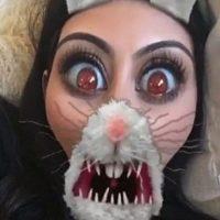 Así se divierte Kim Kardashian en Snapchat Foto:Snapchat/KimKardashian