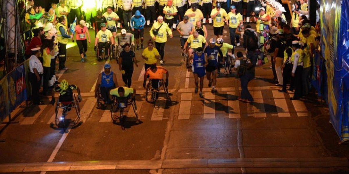Se realizó la multitudinaria carrera 10K Nocturna de la Municipalidad