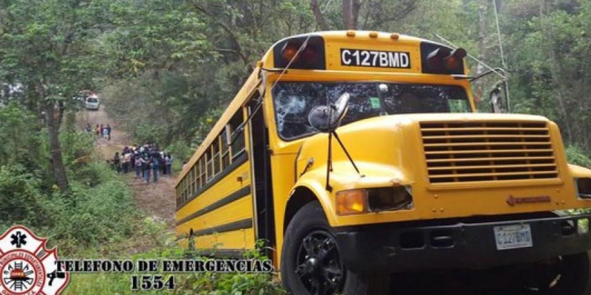 Fotos: Accidente en kilómetro 37 ruta a Antigua Guatemala, hoy 13 de marzo de 2016
