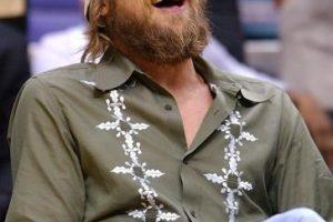 La camisa y el gorro de Brad, tan infamemente populares. Foto:vía Getty Images