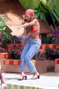 Beyonce en bikini. Foto:vía Getty Images
