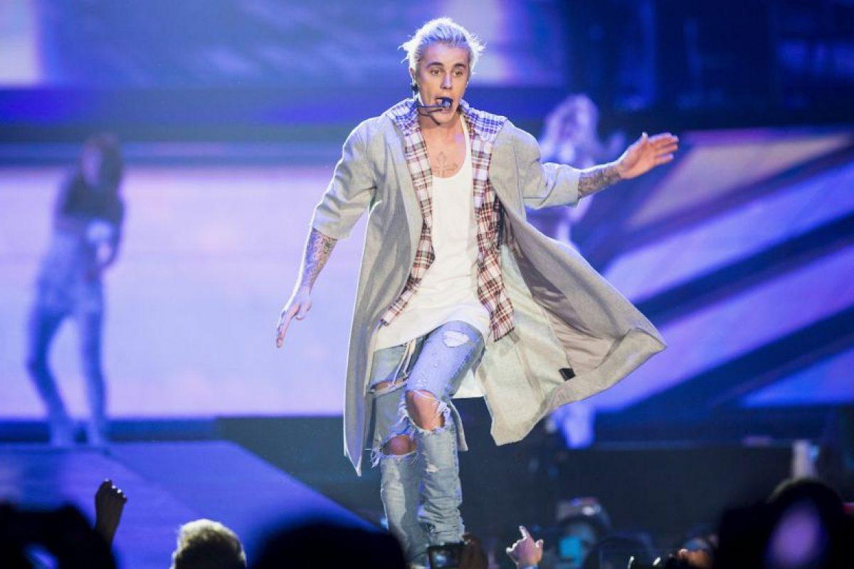 "Justin Bieber en su ""Purpose World Tour"" Foto:Gatty Images"