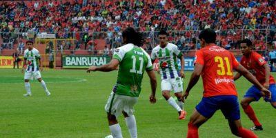 Resultado del partido Rojos Municipal vs Antigua GFC, Torneo Clausura 2016