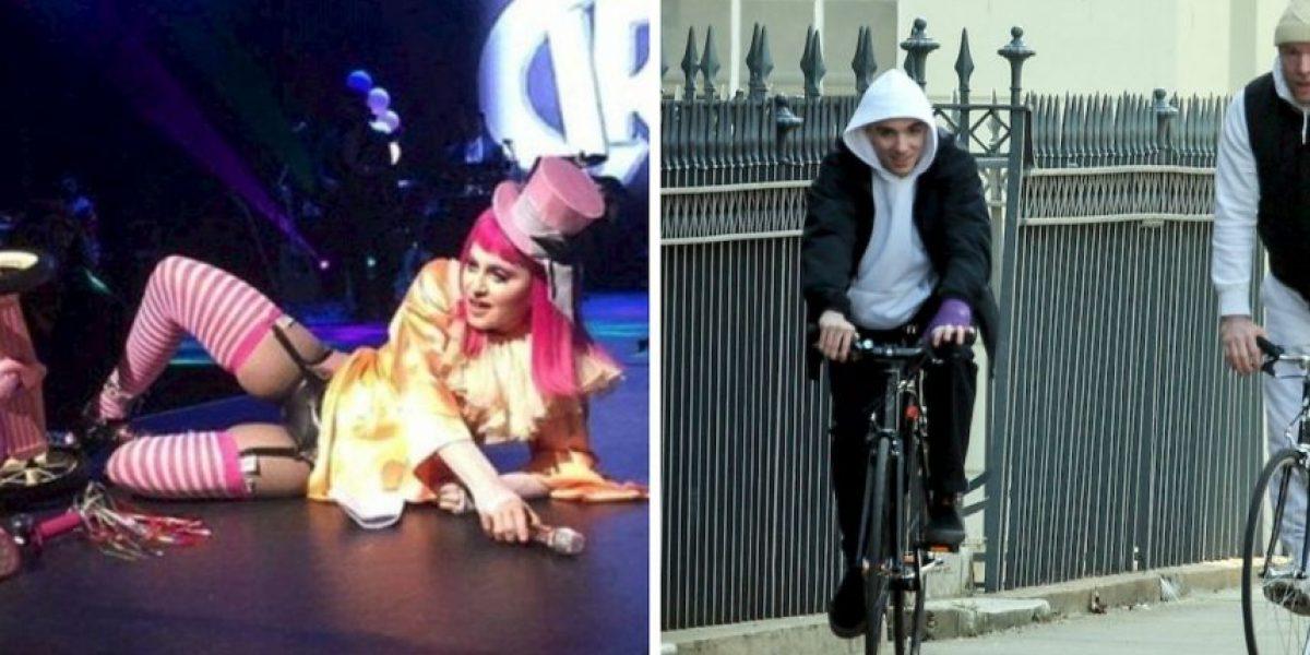 Madonna saca el tequila en el escenario mientras su hijo pasea feliz con su padre