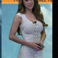 """Su nombre es Yanet García y se encarga de presentar las condiciones climáticas en Televisa Monterrey, México, para el programa """"Gente Regia"""". Foto:Vía Instagram.com/iamyanetgarcia"""