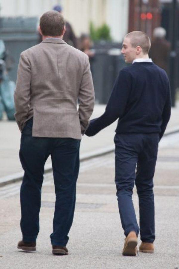 Al parecer padre e hijo tienen una muy buena relación. Foto:Grosby Group