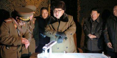 La organización acusa al régimen de desarrollar armas nucleares y de destrucción masiva. Foto:AFP