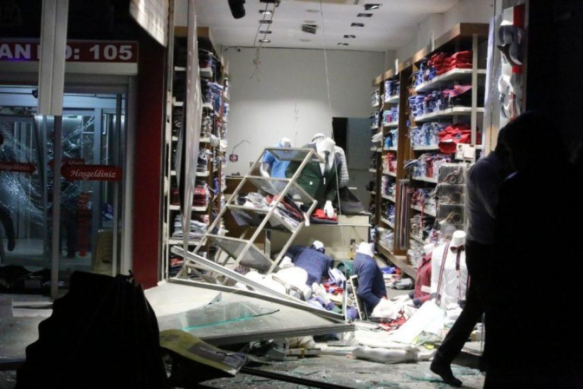 El incidente recuerda a un atentado sucedido el pasado 17 de febrero en un barrio residencial de Ankara. Foto:AFP