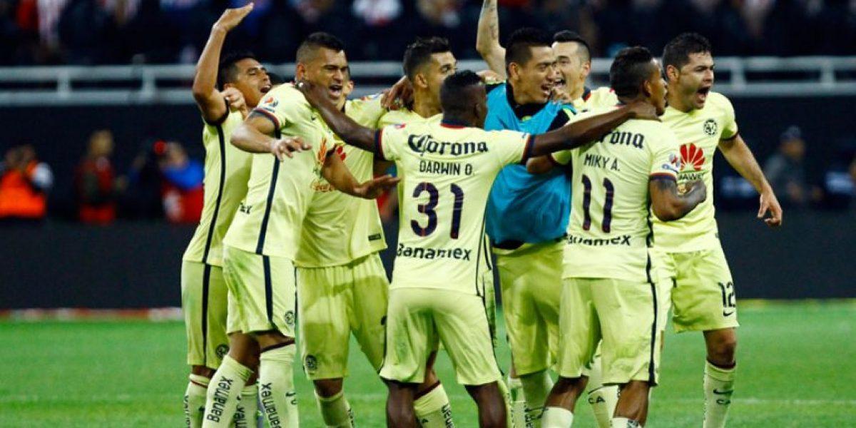 América vence a las Chivas en el clásico mexicano