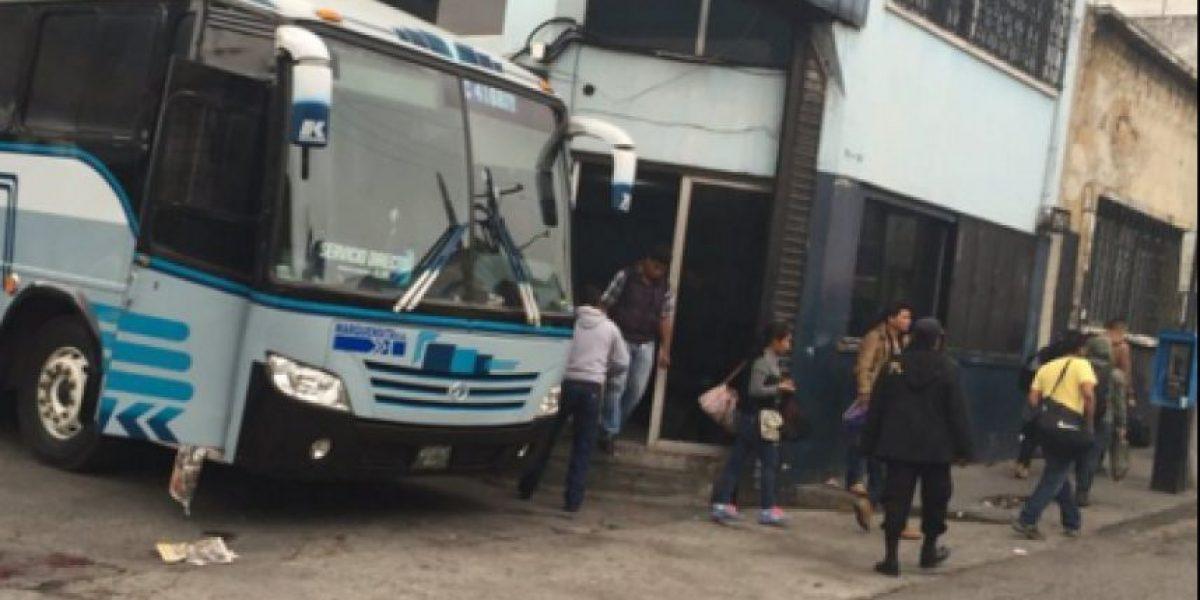 Ataque contra bus con ruta a San Marcos deja dos pasajeros heridos