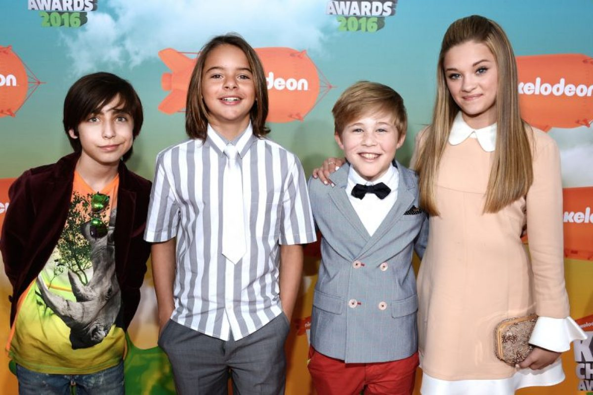 asistieron a los Kids' Choice Awards 2016 Foto: AFP