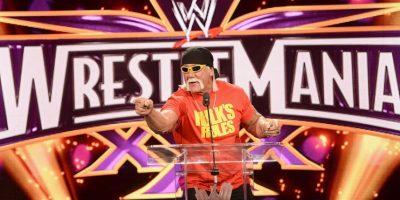 Hulk Hogan. El luchador profesional y actor cuestionado por el portal TMZ, aseguró que le gustaría ser compañero de Trump en su carrera por la presidencia del país. Foto:Getty Images
