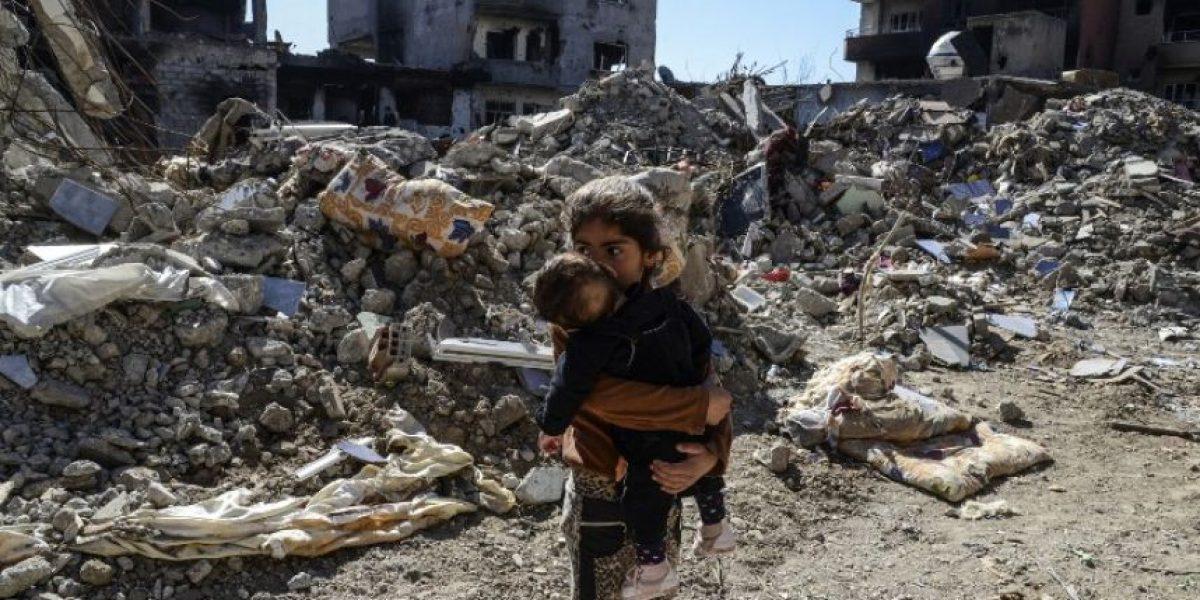 Informe de Unicef sobre guerra y niños en Siria, marzo 2016