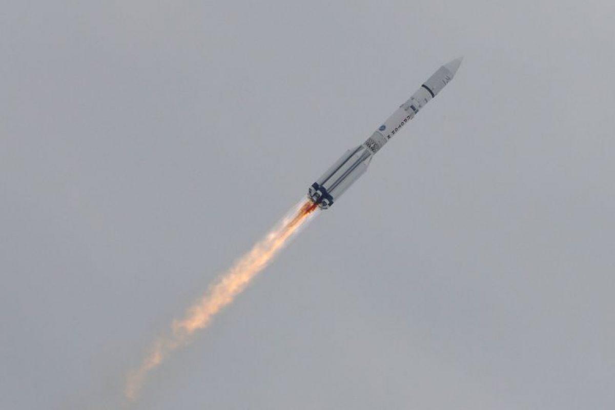 La Agencia Espacial Europea (ESA) y la agencia rusa, Roscosmos lanzan con éxito la misión ExoMars. Foto:AP
